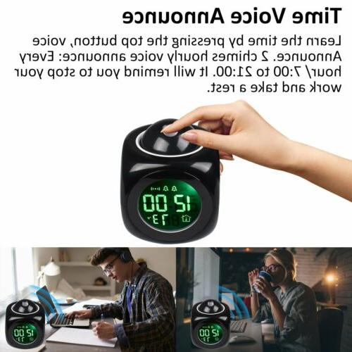 Alarm Clock Projection Talking US