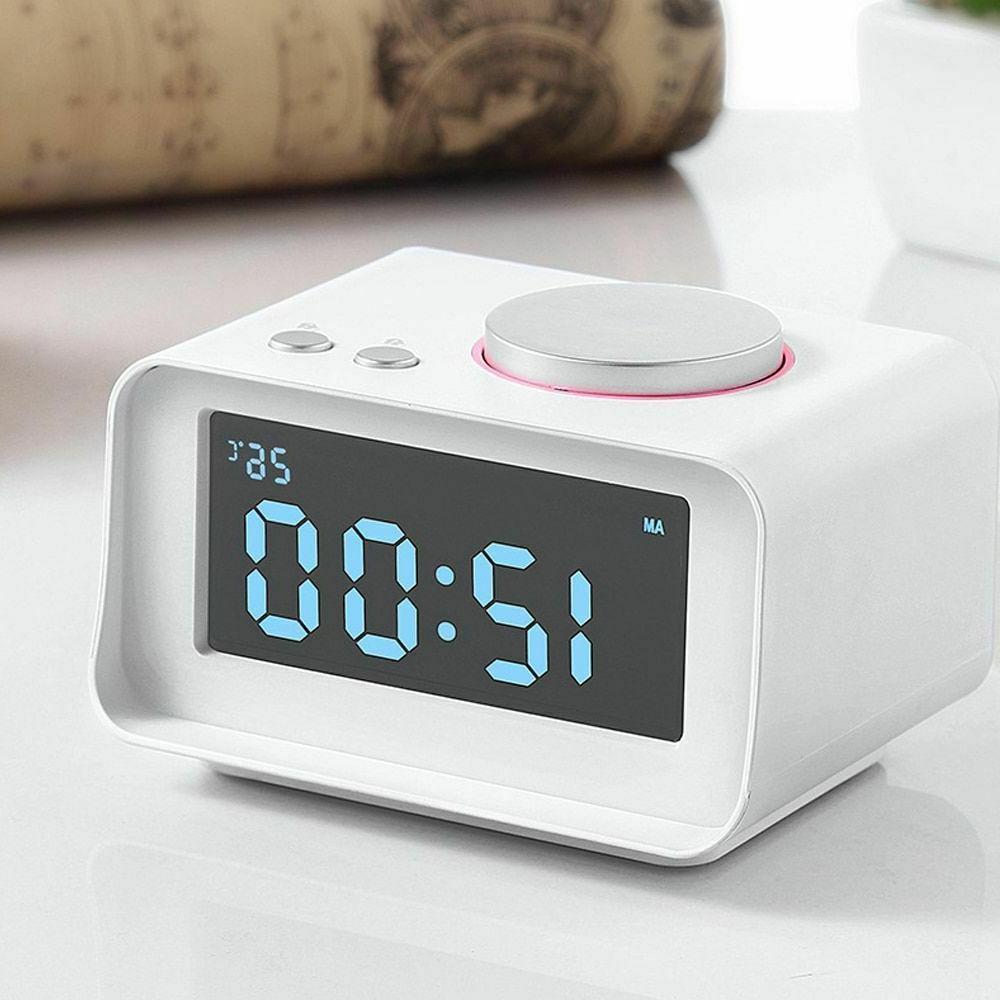 alarm clock mini digital led snooze