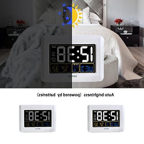 Clock Brightness, Both USB Battery Grades 4 Bedrooms,