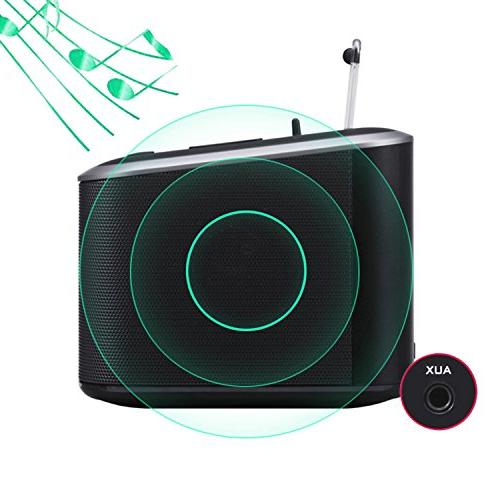 Alarm Speaker,Digital Charger Bedroom with FM and Cell Backup