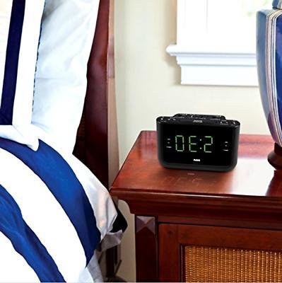 "RCA Alarm Clock Alarm Large Display 1.4"""