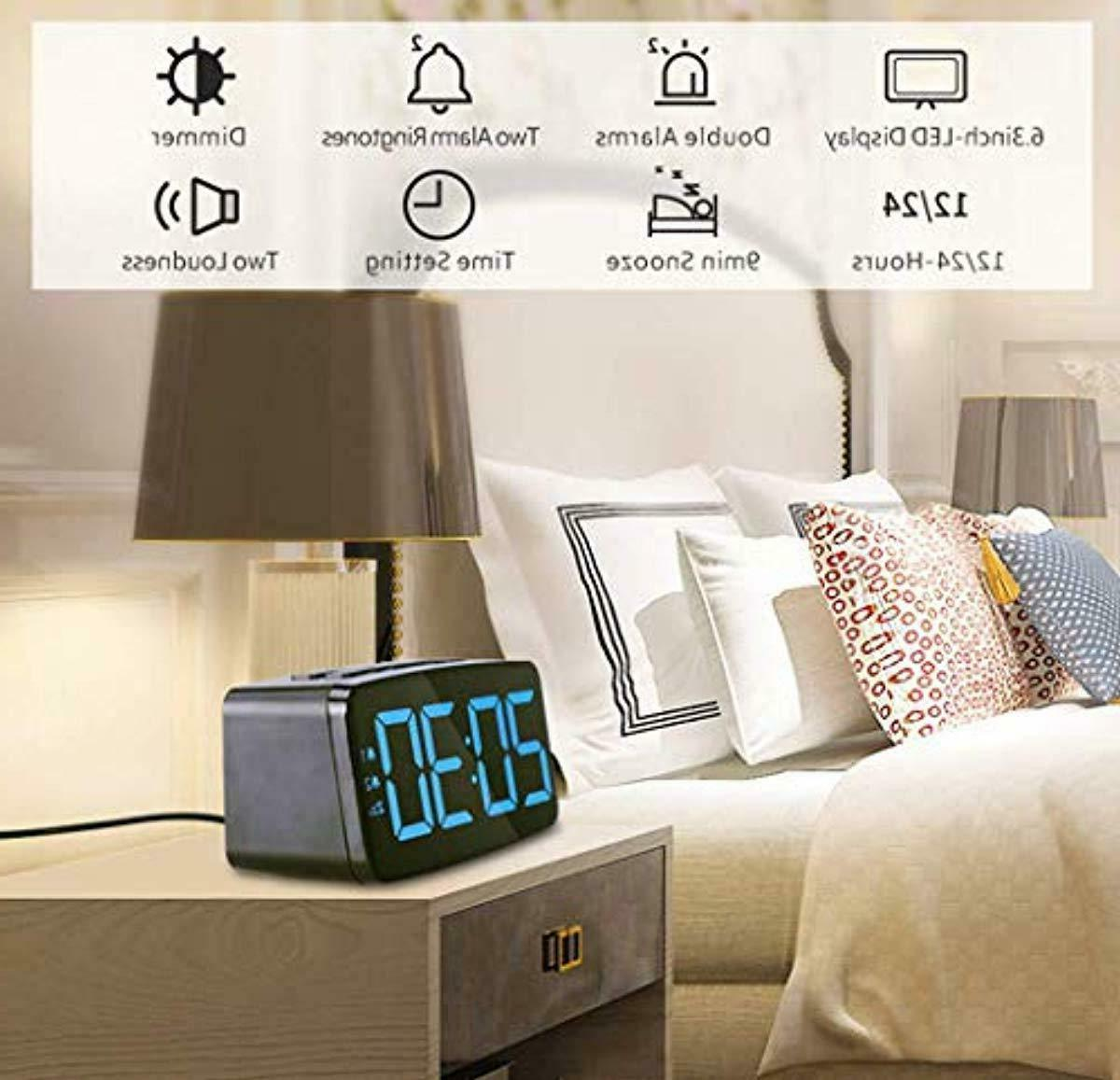 alarm clock radio fm digital clock radio
