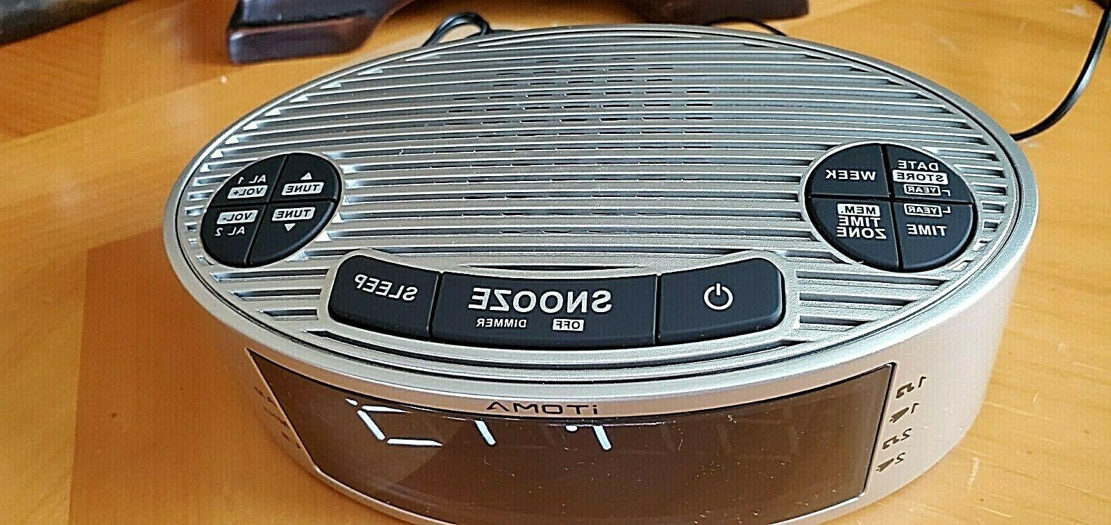 iTOMA Alarm Radio, Clock