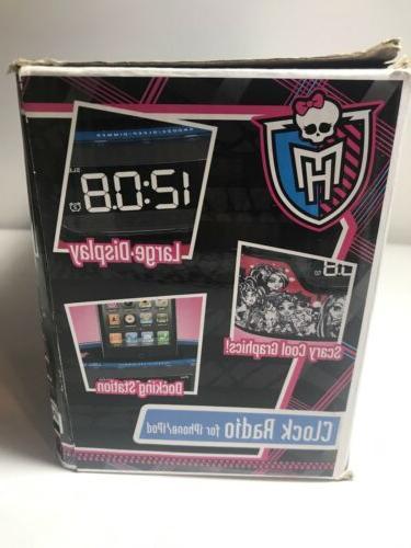 Monster Alarm Radio iPhone iPod Charger