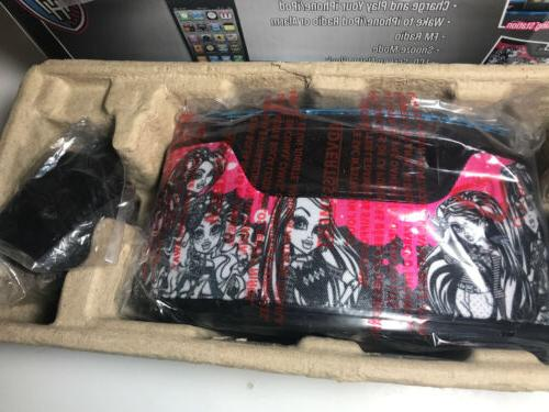 Monster High Clock Radio iPod Charger READ