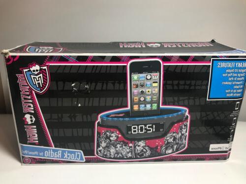 Monster Alarm Radio iPod Charger READ