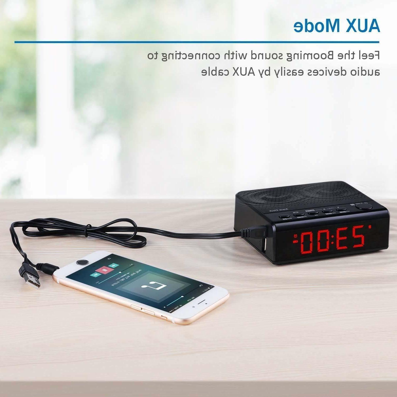 Alarm Audio Speaker, FM Radio, Time