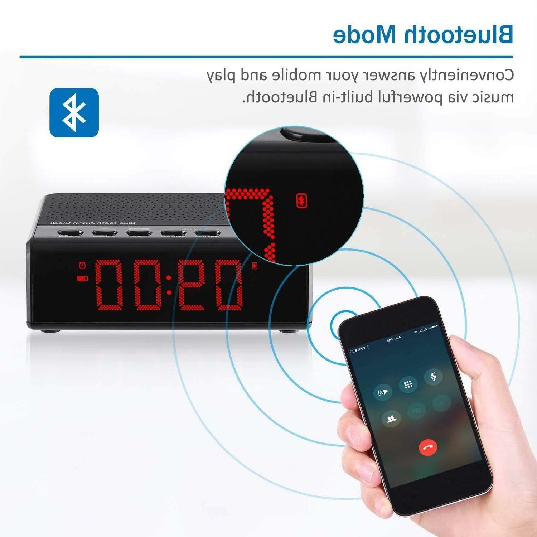 Alarm Clock Radio Audio Time