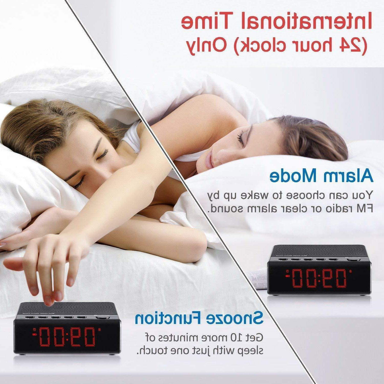 Alarm Radio Audio Radio, 6'' digital Time