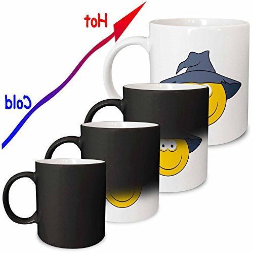 Smiley Magic Mug, 11-Ounce