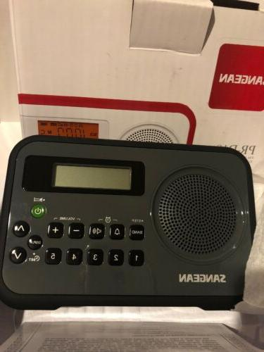am and fm digital portable receiver