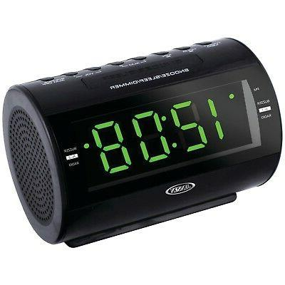 Jensen Am And Fm Dual-Alarm Clock Radio WITH Nature Sound Se