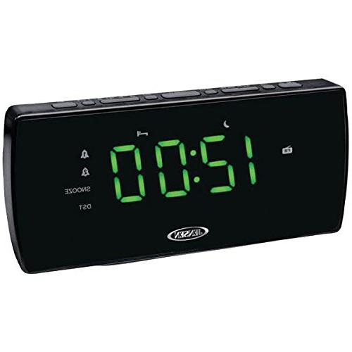 am fm dual alarm clock