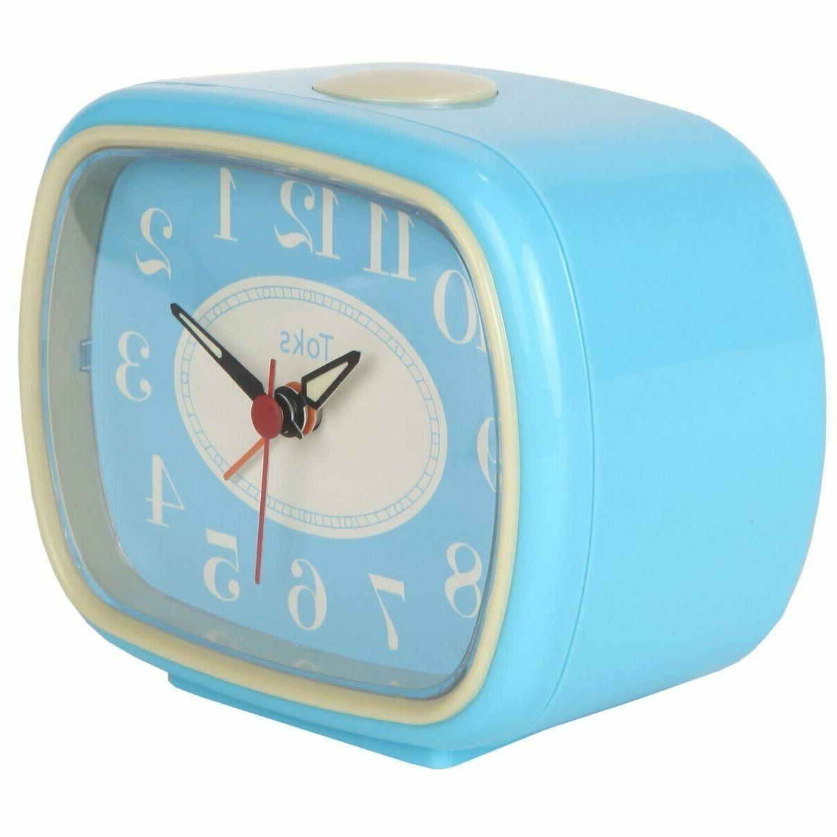 Analog Clock Retro Battery