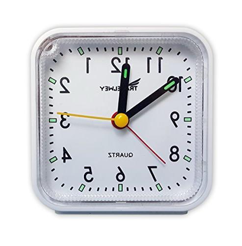 Travel Ticking, Snooze, White