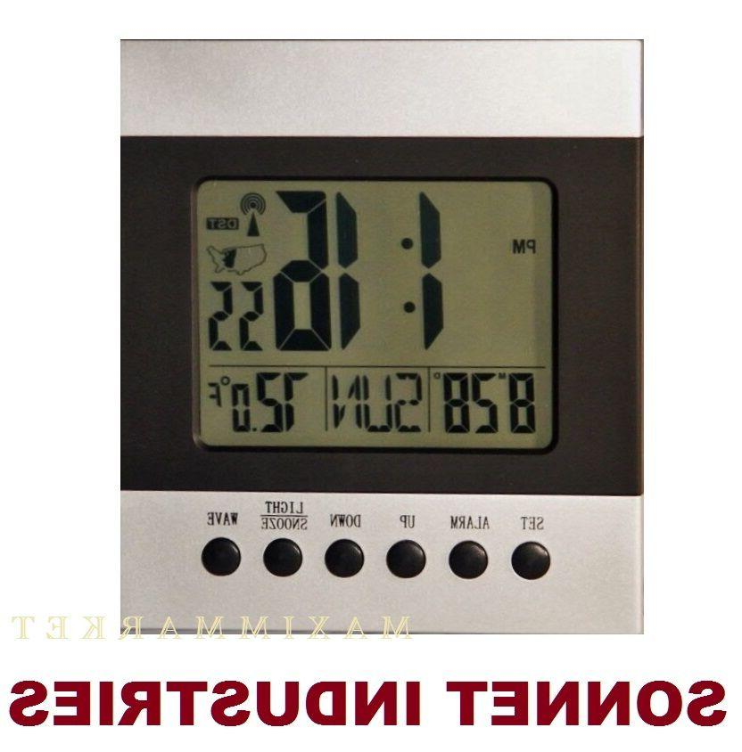 atomic desk bedroom wall alarm clock 1
