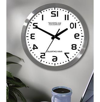 atomic metal analog clock wt