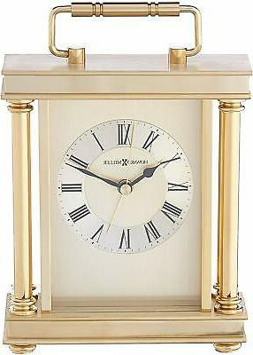 audra table clock 645 584 brass carriage
