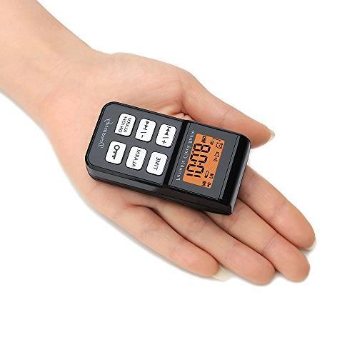 DreamSky Mini Portable Radio, Alarm Clock Display Backlight, Alarms, Battery Alarm Clock,