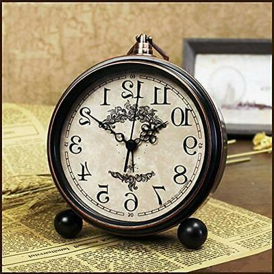 Battery Shelf Clocks Clock Bedroom Large Display