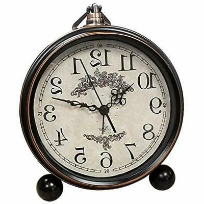 battery alarm desk and shelf clocks clock
