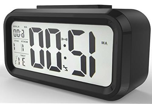 battery operated alarm clock