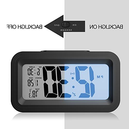 Battery LCD Digital Clocks