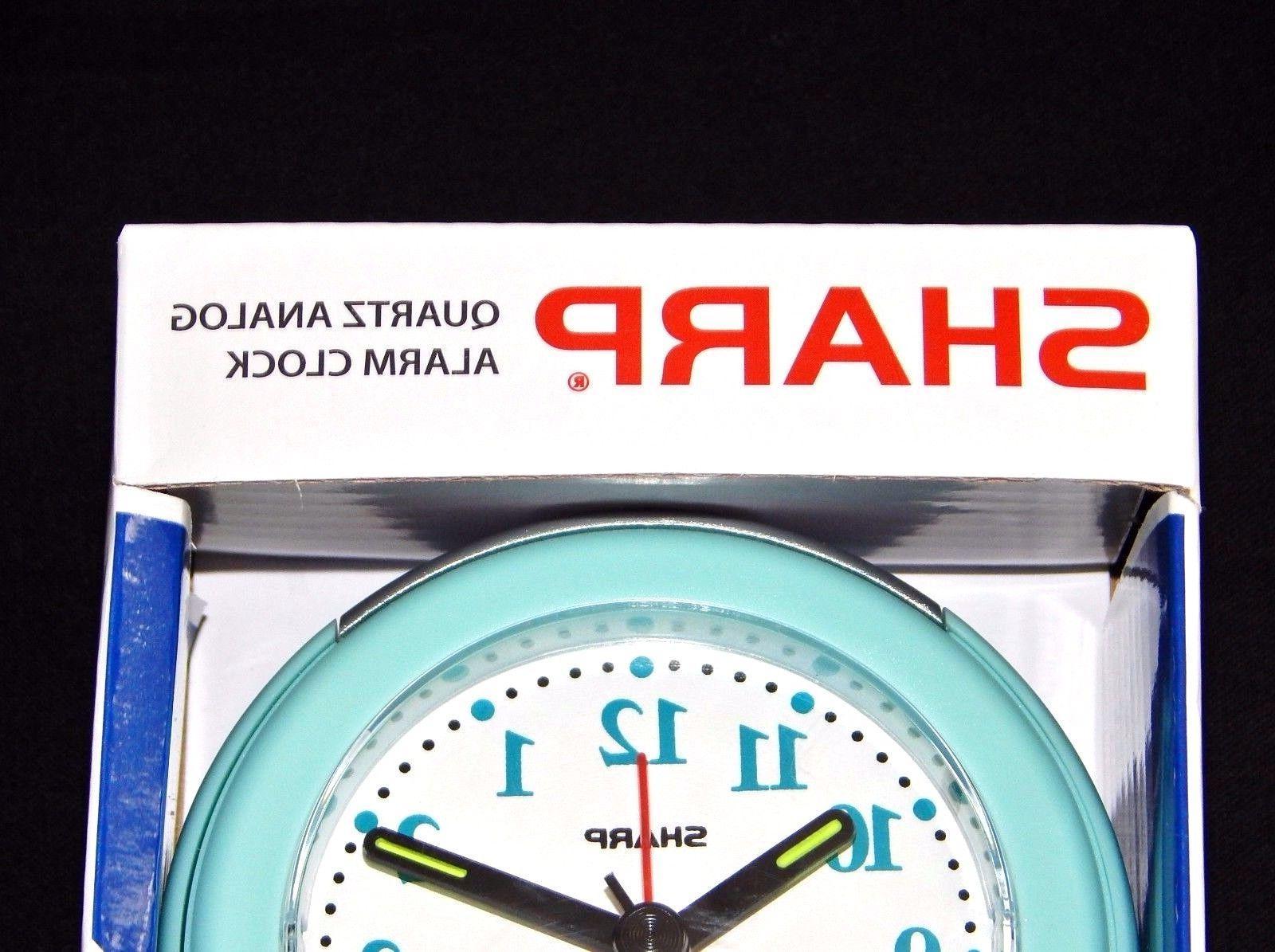 Sharp Alarm Clock Glow Hands Back Light
