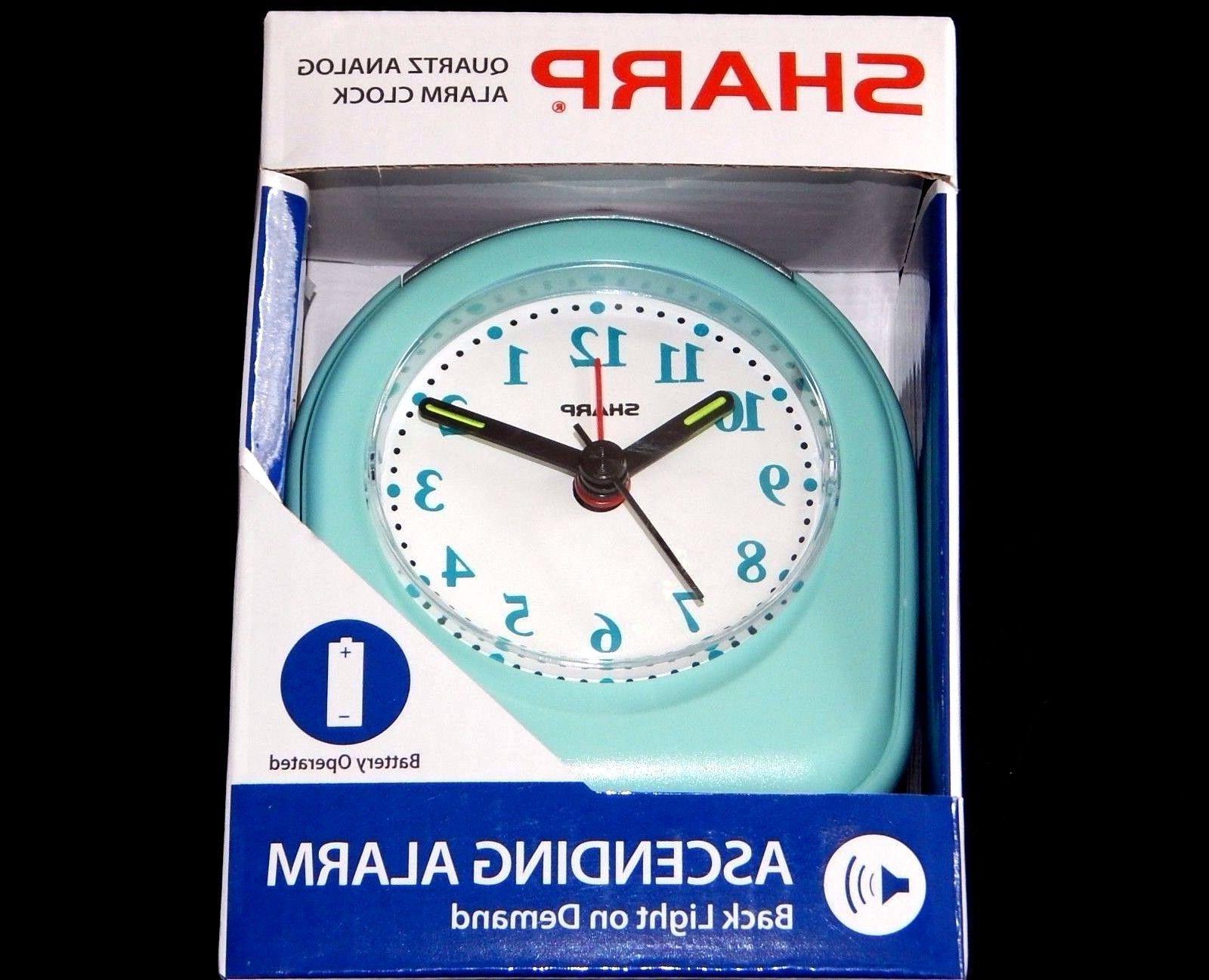 Sharp Alarm Glow Hands Back Demand