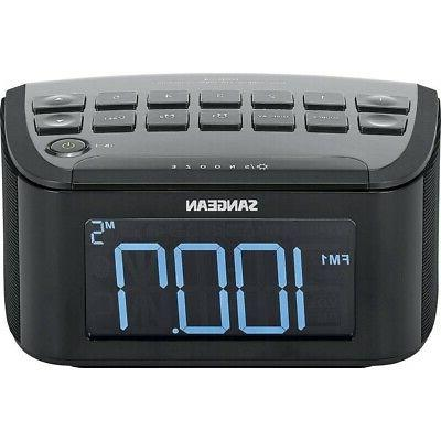 bedside alarm clock radio digital home modern