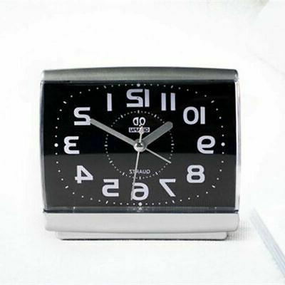 black white square simple quartz beep alarm