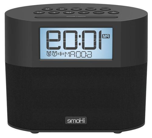 iHome Bluetooth Dual Alarm FM Clock Radio with Speakerphone