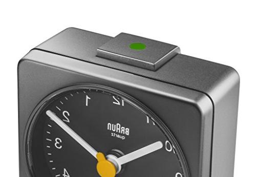 Braun BNC002GYGY Quartz Alarm Clock