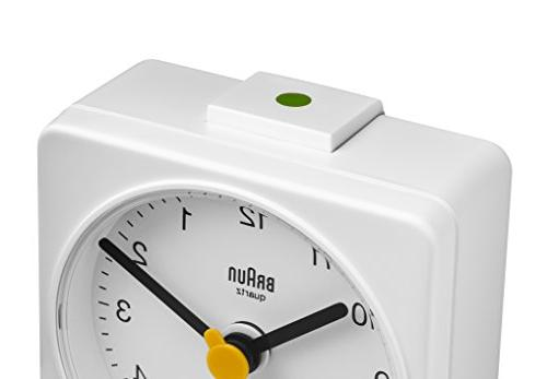 Braun BNC002WHWH Classic Analog Quartz Alarm