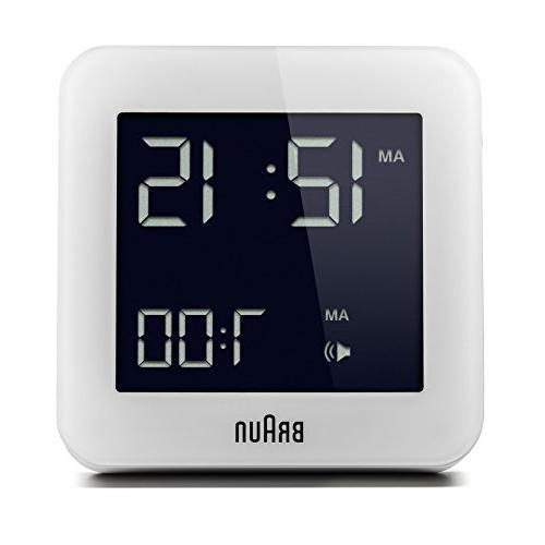 bnc009wh quartz alarm clock