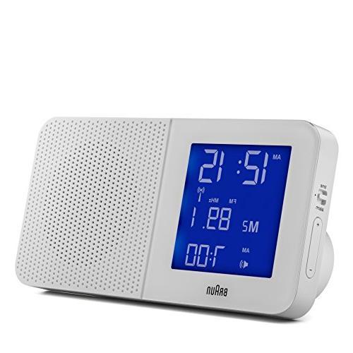 Braun AM/FM Alarm Clock