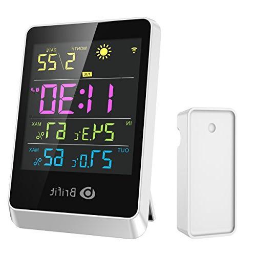 brifit wireless hygrometer indoor thermometer