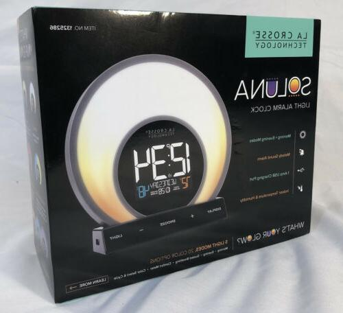 c85135 color mood light alarm clock
