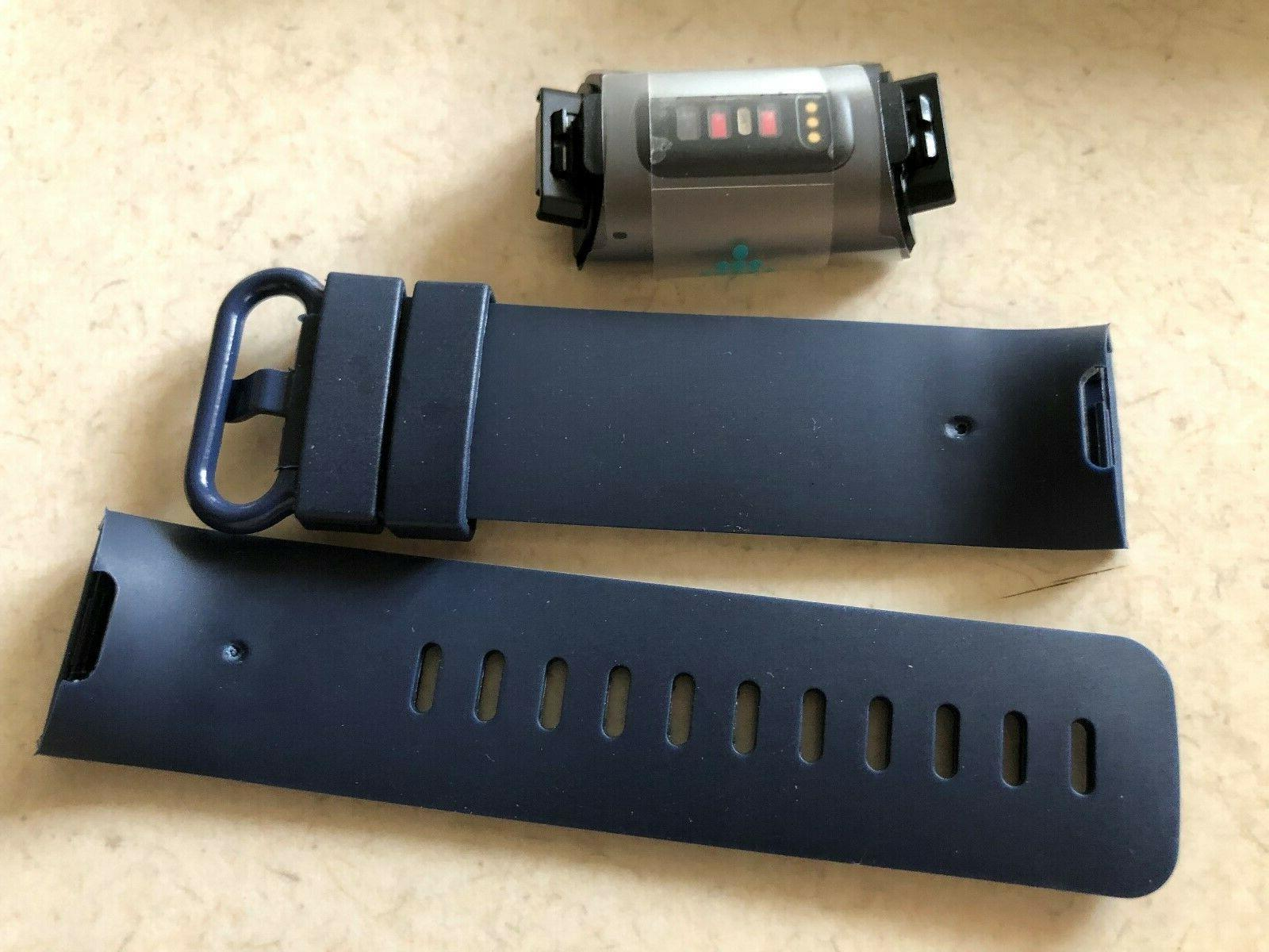 Fitbit Charge 3 Black - New Navy Generic and Charger