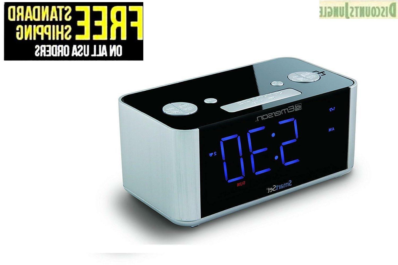 cks1708 smart automatic time setting alarm clock