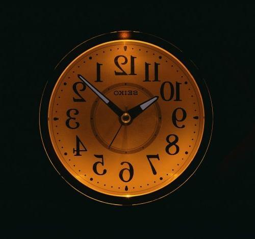 SEIKO alarm Round by Seiko Watches