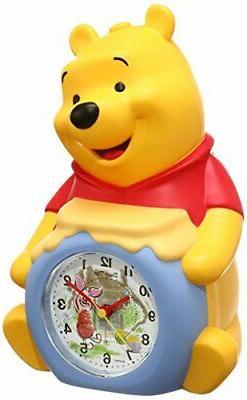 SEIKO Clock Clock Winnie The Pooh Three-Dimensional Talking