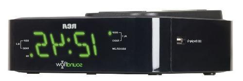 RCA Clock Radio Soundflow Wireless USB