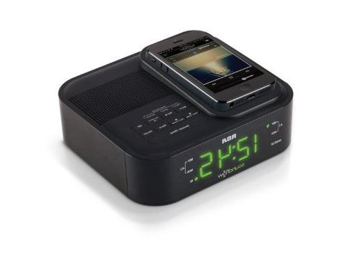 RCA Clock Radio Soundflow Wireless USB Charging