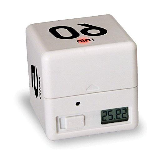clock timer alarm cube 30
