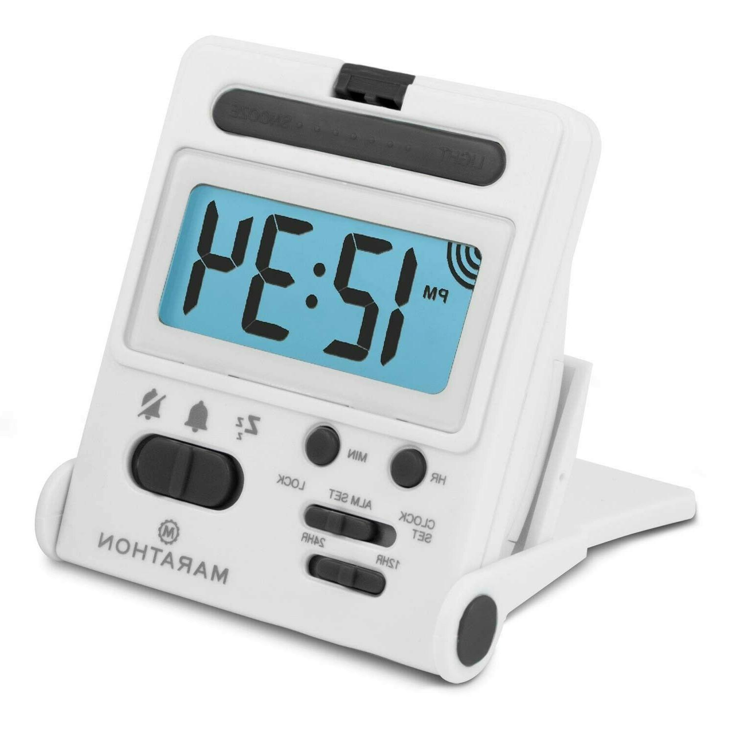 clocks for bedrooms cheap loudest travel tool