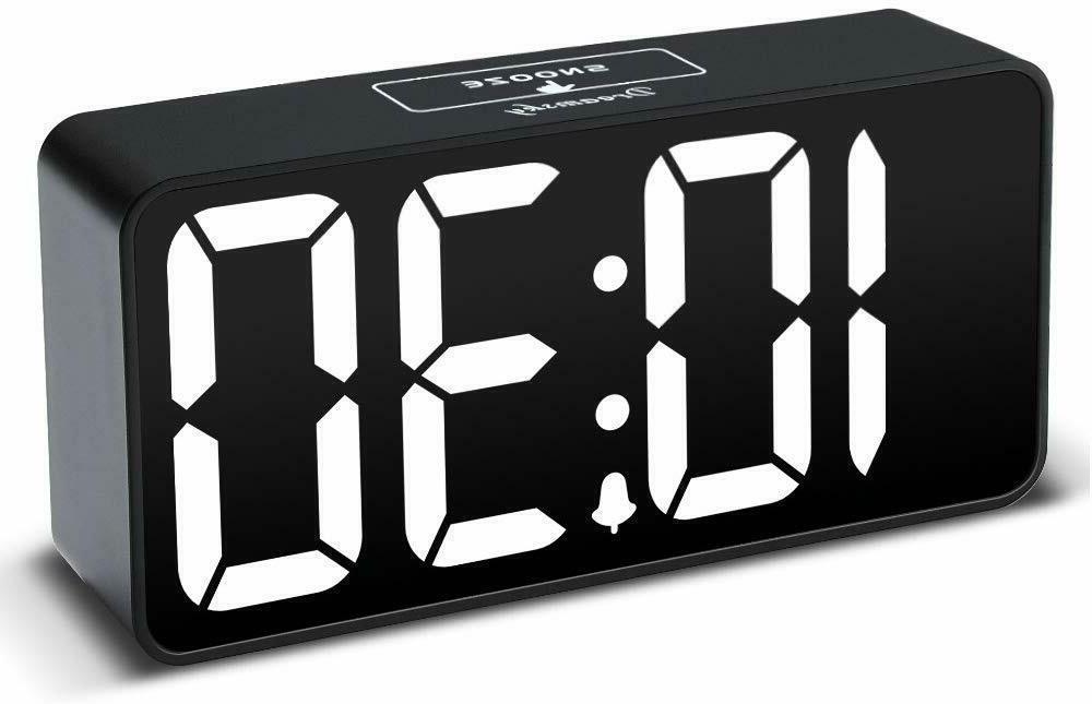 compact digital alarm clock usb port