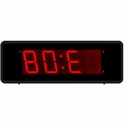 Kwanwa Cordless Energy Efficient LED Digital Alarm Clock Wit