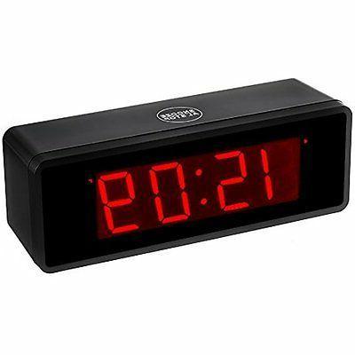 Shelf LED Alarm Clock With 1.4''