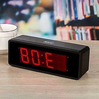 Kwanwa Cordless Alarm Clock With 1.4''